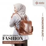 Inilah Tas Ransel Wanita Kulit Asli dari Aleta Leather yang Stylish