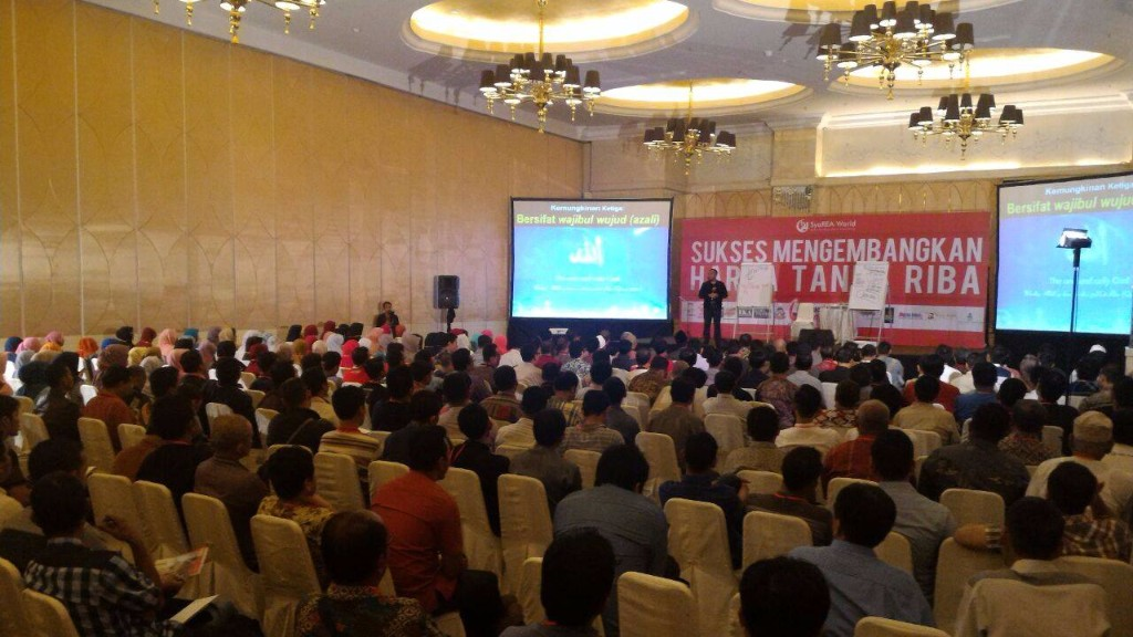 Seminar Bisnis, sumber Masyarakat Tanpa Riba